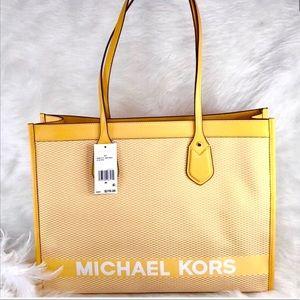🌻New Michael Kors 🌻Sunflower Bay Large Eas…